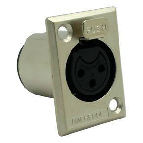 Conector-XLR-femea-de-painel-Amphenol-AC3FPZ