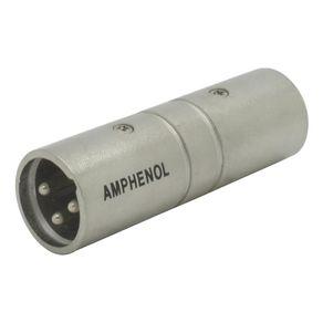 Conector-Adaptador-XLR-Macho-e-XLR-Macho-Amphenol-AC3M3MW