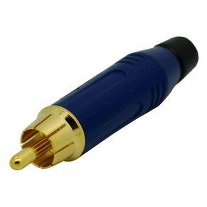 Conector-RCA-Macho-de-cabo-Amphenol-ACPRBLU
