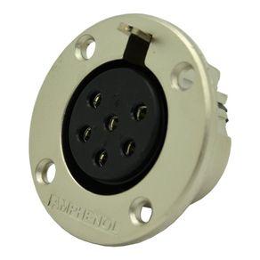 Conector-EP-6-polos-femea-painel-Amphenol-EP613P