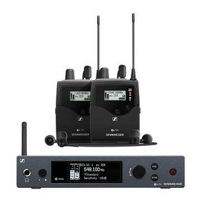 Sistema-In-Ear-Duplo-sem-fio-Sennheiser-EW-IEM-G4-TWIN