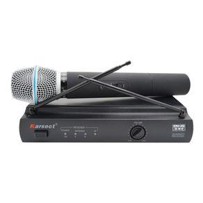 Microfone-sem-fio-bastao-UHF-Karsect-KRU301B