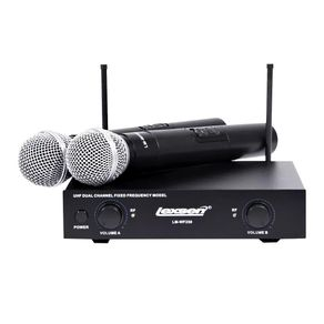 Microfone-Sem-Fio-Duplo-UHF-Lexsen-LM-WF258