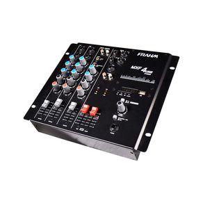 Mesa-de-som-Mixer-4-canais-Frahm-MXF-4-USB