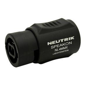 Conector-Adaptador-Speakon-4-polos-Neutrik-NL4MMX