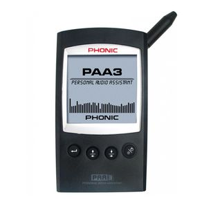 Analisador-de-audio-Phonic-PAA3