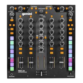 Mixer-DJ-4-canais-Gemini-PMX-20