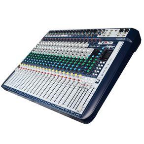 Mesa-de-som-22-canais-Soundcraft-Signature22